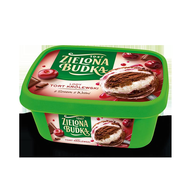 Zielona Budka Tort Królewski