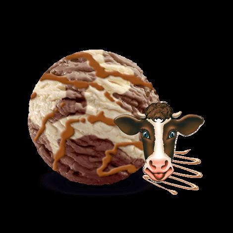 Zielona Budka Muuucia Krówkowa<br>czekoladowo – śmietankowa