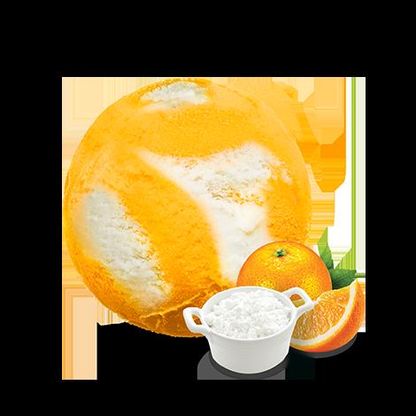 Zielona Budka Słoneczna pomarańcza z twarożkiem